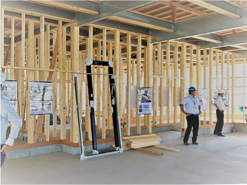 木造建築構造見学会を開催しました