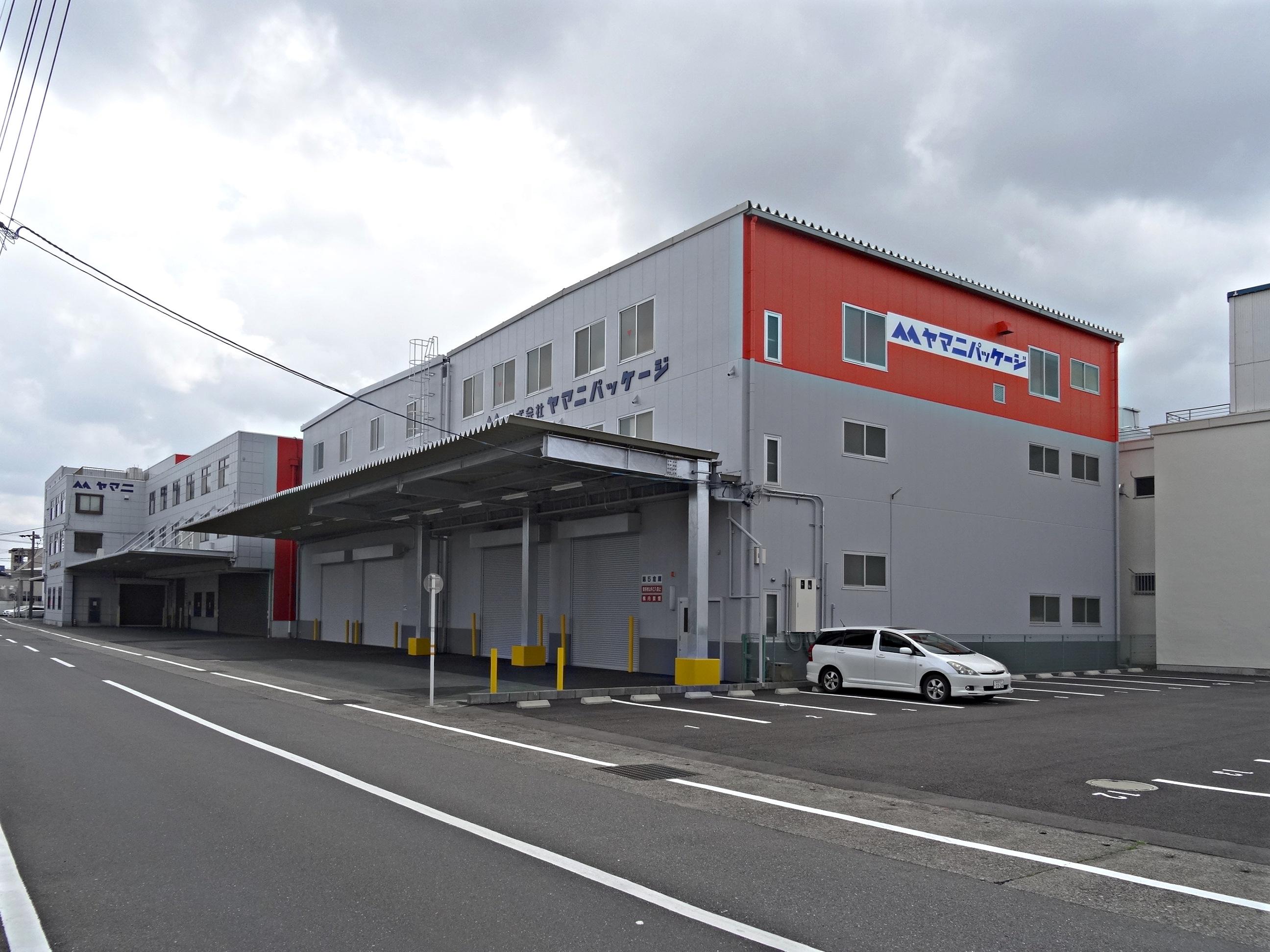 株式会社ヤマニパッケージ 様 第5倉庫 【設計施工・増築】